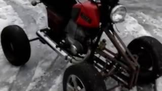 Квадроцикл своими руками на базе ИЖ планета 5