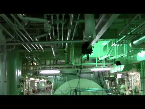 Engine Room Tour on a Container Ship