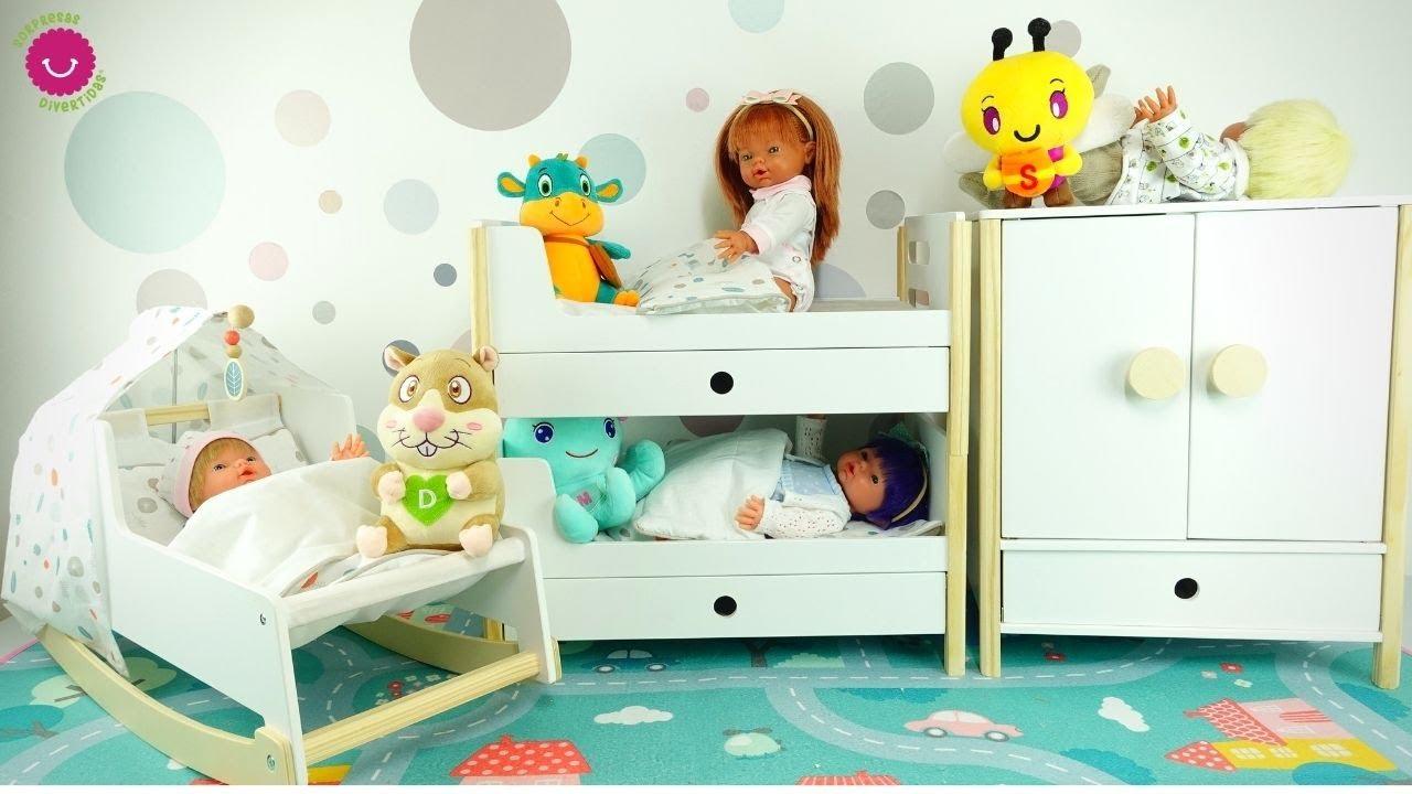 Los Nadurines estrenan NUEVA HABITACIÓN de juguete para muñecas bebé ¡Parecen muebles de Ikea!