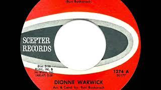 1964 HITS ARCHIVE: Walk On By - Dionne Warwick