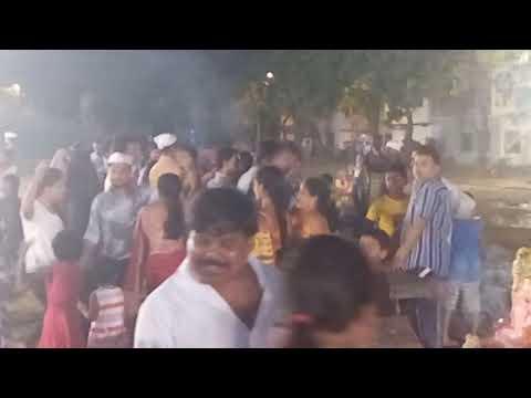 Rocking DJ Party   5-day Ganpati immersion celebrations at Ghatkopar West