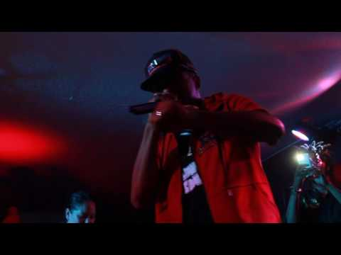 Cassidy Freestyles Live on Stage in Colorado Springs