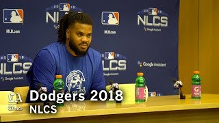 Dodgers NLCS 2018: Kenley Jansen on going from 10 games under .500 to one win from the World Series