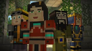 Minecraft Story Mode Female Playthrough Episode 5 Order Up Full Playthrough