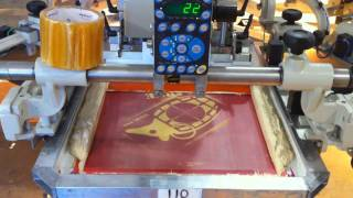 Screen Printing on RPM Revolution Automatic