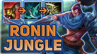 JUNGLE YASUO RIPS THROUGH THE RIFT RONIN STYLE! - Patch 7.15