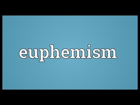 english euphemism List if figures of speech - euphemism definition and examples of euphemism.