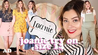 IS 'JOANIE CLOTHING' SIZE 14 FRIENDLY? AVERAGE GIRL TRY ON - NEW IN | LUCY WOOD
