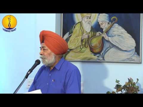 Seminar: Gurmat Vich Sangeet Da Sankalp  - Dr Sukhdial Singh ji