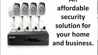 zmodo smart wireless security cameras- 4 pack