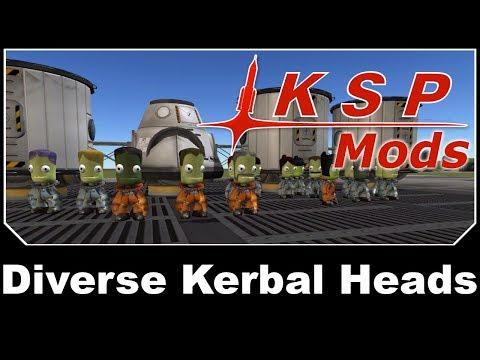 KSP Mods - Diverse Kerbal Heads