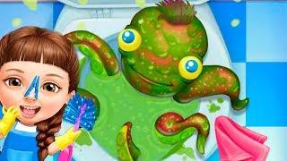 - Игра где Девочка Катя делает Уборку в ШКОЛЕ Мультик для детей Video for kids