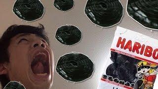 HARIBOのタイヤグミ食べてみた!