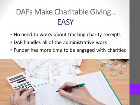 DAF (Donor Advised Funds) 101
