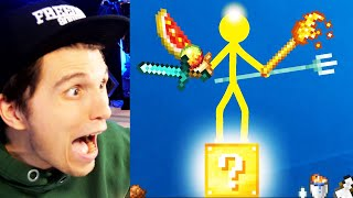 Paluten REAGIERT auf Animation vs. Minecraft LUCKYBLOCKS!