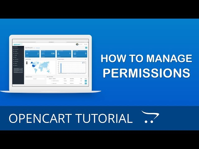 How to Manage Permissions in OpenCart 3.x