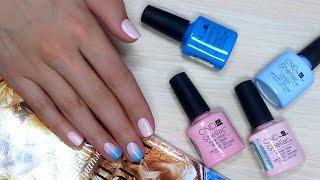 Дизайн ногтей гель-лак shellac - Градиент (видео уроки дизайна ногтей)