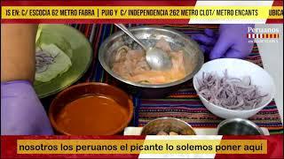 EL CEVICHE EN INKA RESTAURANTE…