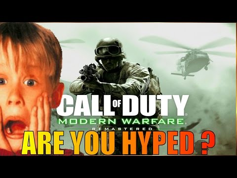Modern Warfare Remastered: Are you hyped ? Black Ops 3 Gameplay