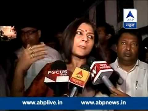 Kolkata : Actor-turned politician Roopa Ganguly assaulted by TMC men I public meeting disrupted