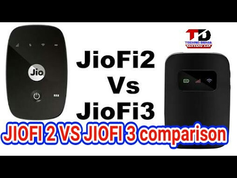 Jio Fi2 VS Jio Fi3 Full  comparison step by step.
