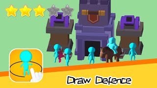 Draw Defence Walkthrough Draw your army! Recommend index three stars