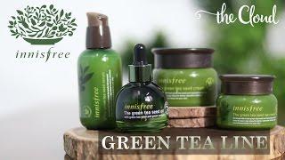 INNISFREE GREEN TEA SKINCARE REVIEW 🍃 🍃 | Dưỡng da trà xanh dòng Fresh - Balancing - Moisture - Seed