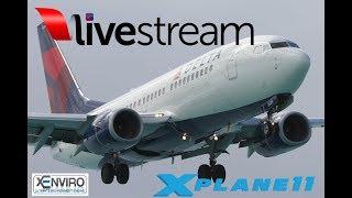 X-Plane 11 | B738 CRJ2 | VATSIM | KORD-KDCA-KATL-KEYW-KTPA [SHARED COCKPIT W/ CptCanada]