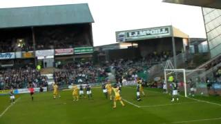 Newcastle Uniteds Andy Carrolls Championship winning gaol.