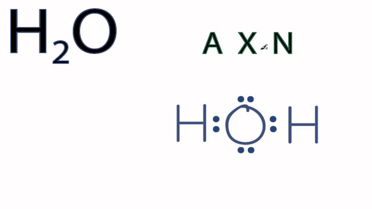 h2o molecular geometry shape and bond angle precise angle is nacl bond diagram h20 bond diagram [ 1280 x 720 Pixel ]