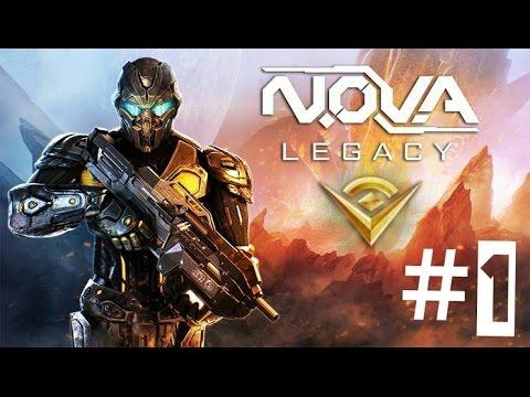 #1 прохождение NOVA Наследие на андроид!