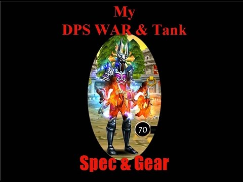 Order & Chaos Online Spec + Gear Warrior Bloodseeker Dps Guardian Tank