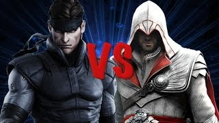 Solid Snake vs Ezio Auditore [Epic Rap Battle]