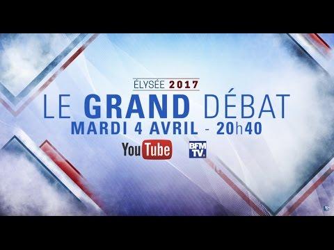 Live Debat - Le Grand Debat - Mardi 4 Avril