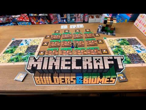 Правила настольной игры Майнкрафт Строители и Биомы - Minecraft Builders \u0026 Biomes