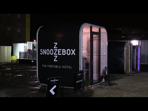 Hotel Review | Cardiff Bay | Snoozebox (Pop-up Hotel)