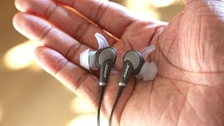Bose QC 20i Headphones Review!