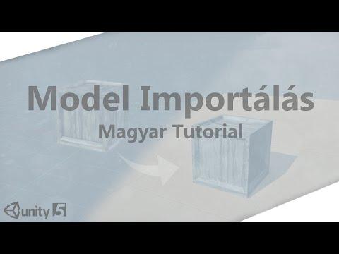 Model importálása Unityba - Magyar Tutorial (Unity5) (HD)