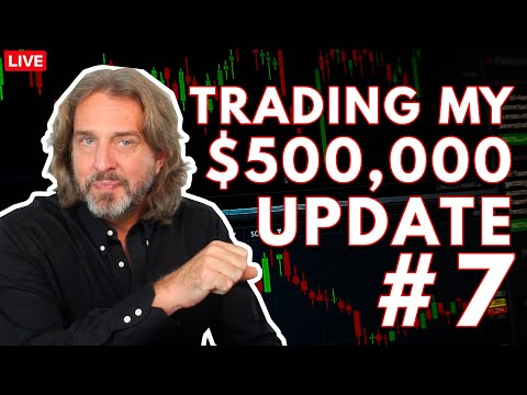 Trading Options For A Living – $500,000 Trading Account Update #7 (Episode 154)