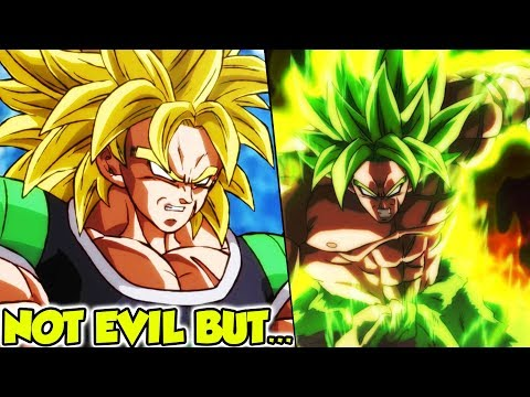 Broly NOT Evil In Dragon Ball Super Broly BUT... - News