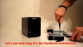 QNAP TS 221 2 bay NAS preview and hardware install
