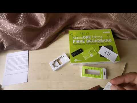 MaxisOne Home Fibre & 4G USB Modem | Unboxing Package for MCO New Subscriber