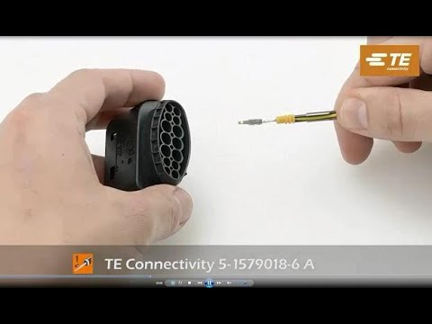Sealed Terminal Insertion Tools from TE Connectivity