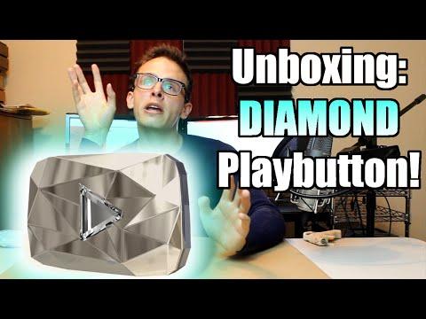 Bad Unboxing - DIAMOND PLAY BUTTON!!!! [10 MILLION SUB TROPHY] thumbnail