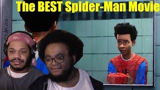 Into The Spider-Verse - BEST SPIDER-MAN MOVIE: BLACK PEOPLE REACT