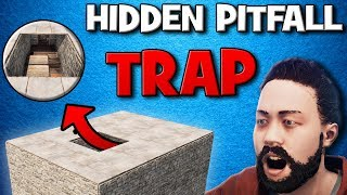 The Most OVERPOWERED PITFALL TRAP in RUST