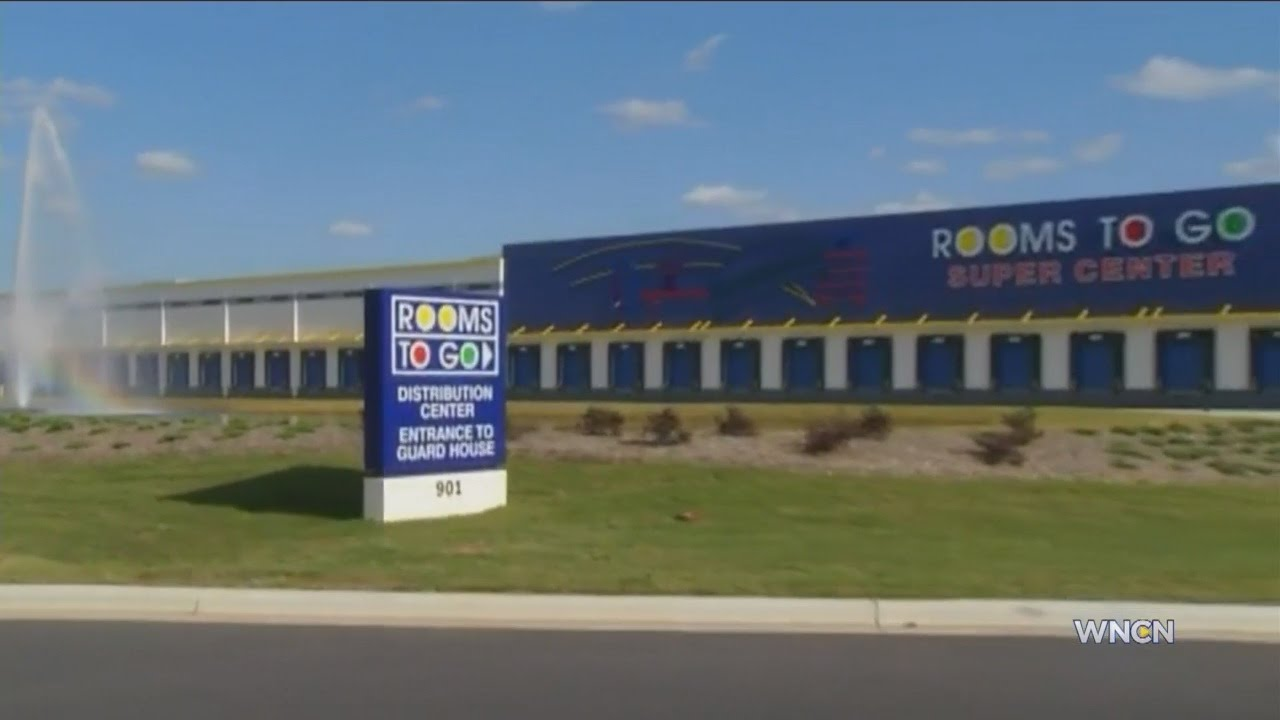 Rooms to Go super center to bring 400 jobs to Dunn area - YouTube