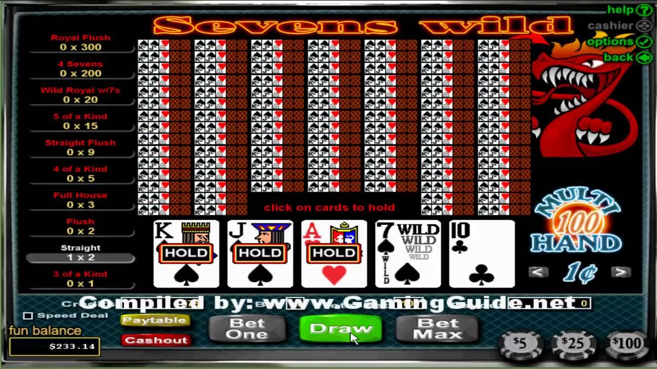 100 Hand Video Poker