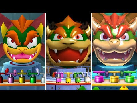 Evolution of Battle Minigames in Mario Party (1998-2017)