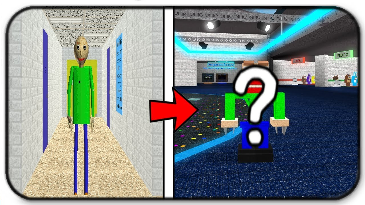 Creating And Becoming Baldi Basic In Roblox Animatronic World